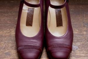 靴 オーダー パンプス ワイン 神戸 halva-halva