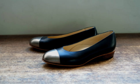 靴 オーダー パンプス 黒 ブロンド 神戸 halva-halva
