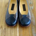 靴 オーダー パンプス 黒 カーキブラウン 神戸 halva-halva