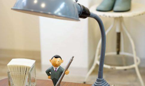 テーブルライト アンティーク グレー 自然光ライト